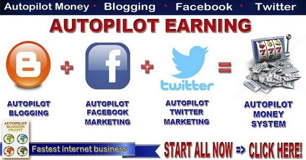 Autopilot Blogging Easy Money System