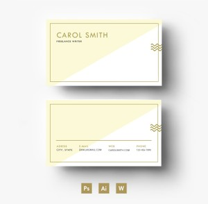 Custom Business Card Template/ PSD file