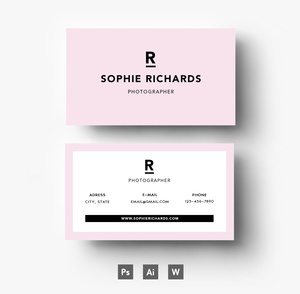 Creative Business Card template pack/ Editable PSD File
