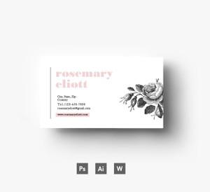 Creative Business Card template/ Layered PSD file