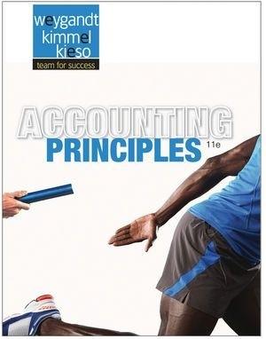 Accounting Principles weygandt 11th edition solutions manual