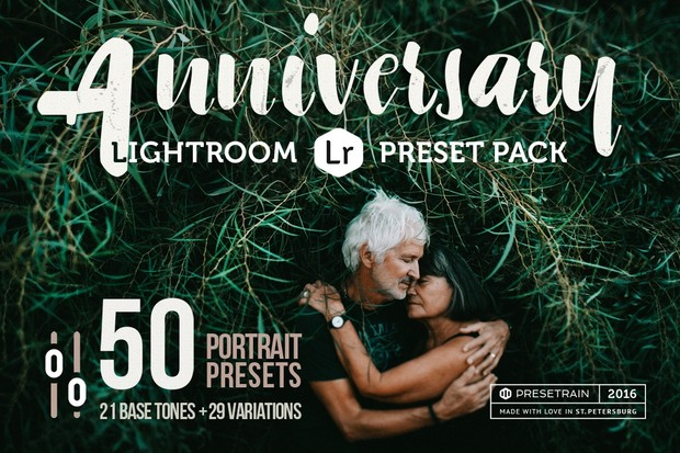 Anniversary Collection - 50 Lightroom Presets