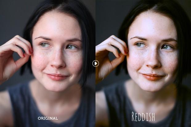 Reddish Pro Photoshop Action