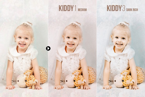 Kiddy - Children and Family Presets for Lightroom & ACR