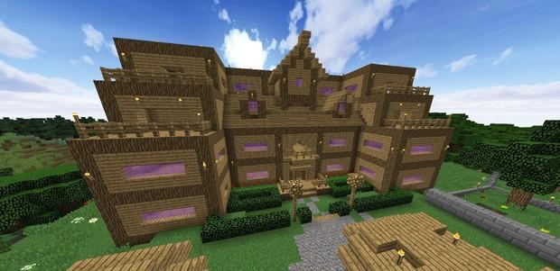 Mansion Hotel Minecraft Build Lakshartyt