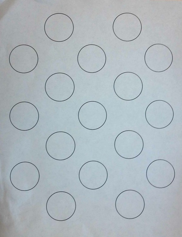 Arelio Sweetbox Macaron round template