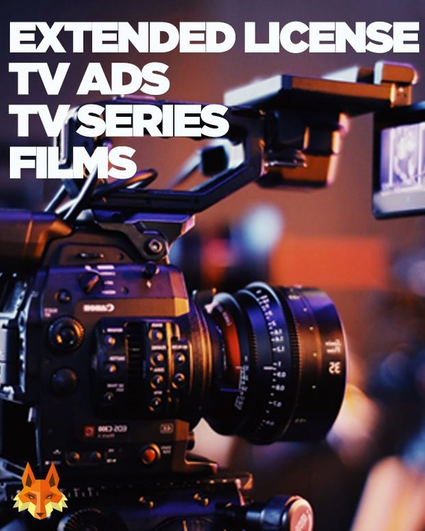Extended Commercial License - TV Ads, TV & Film