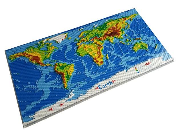 Dirks Lego World Map Ldd File Instructions Parts L Dirk