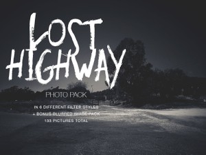 Lost Highway Photo Pack