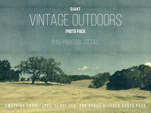 Giant Vintage Nature Photo Pack