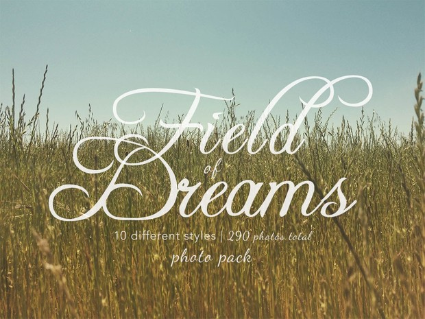 Field of Dreams Photo Pack