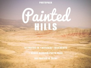 Painted Hills Photo Pack