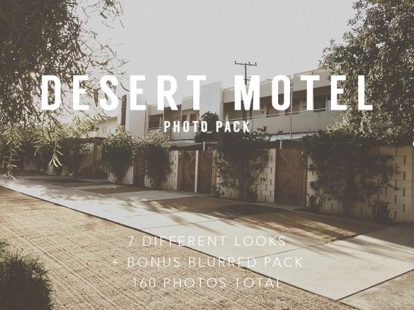 Desert Motel Photo Pack