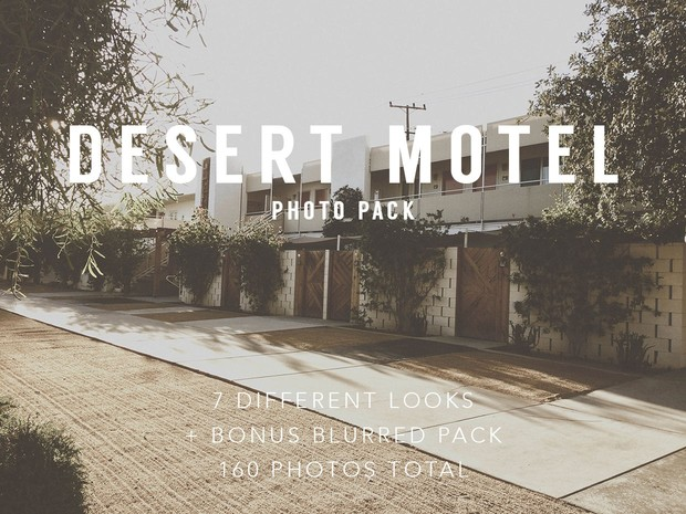 Desert Motel Photo Pack