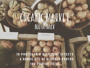 Organic Market Photo Pack
