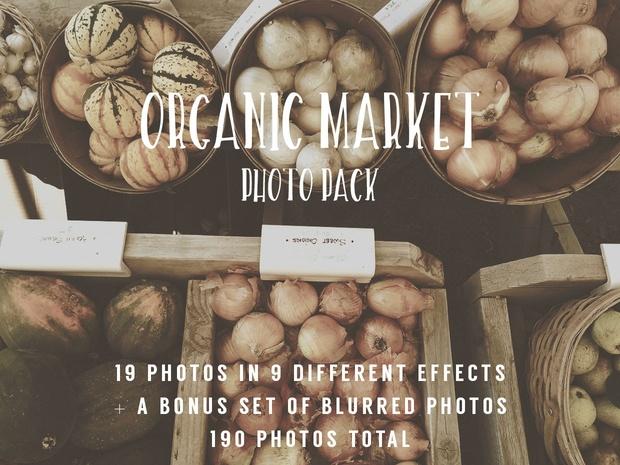 Organic Market Photo Pack