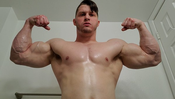 Oiled Chest and Arms (reupload)