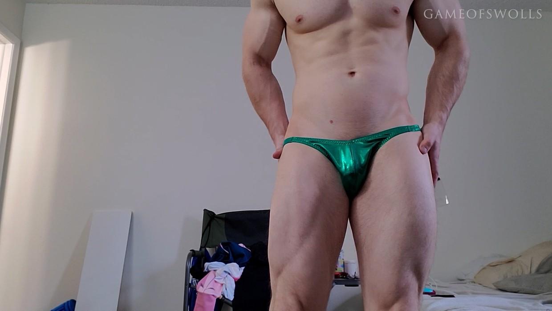 Me in posing trunks (reupload)