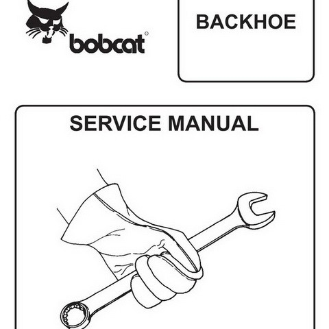 Bobcat 440-2400 Backhoe Workshop Repair Service Manual - 6900622