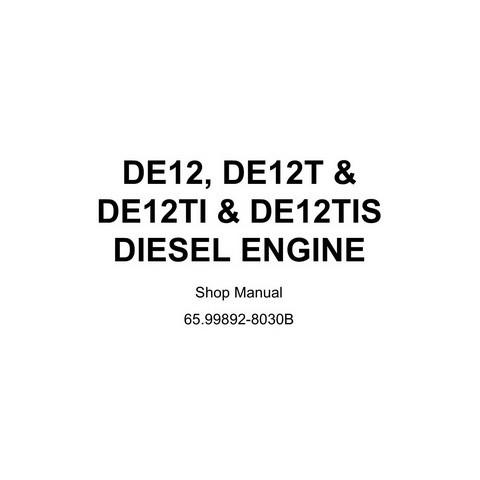 Daewoo DE12, DE12T, DE12TI & DE12TIS Diesel Engine Shop Manual