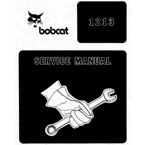 Bobcat 1213 Feller Buncher Workshop Repair Service Manual - 6570156