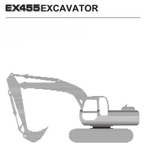 Hitachi Fiat-Kobelco EX455 (Tier 2) Crawler Excavator Technical & Workshop Manual