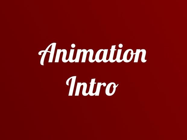 Animation Intro