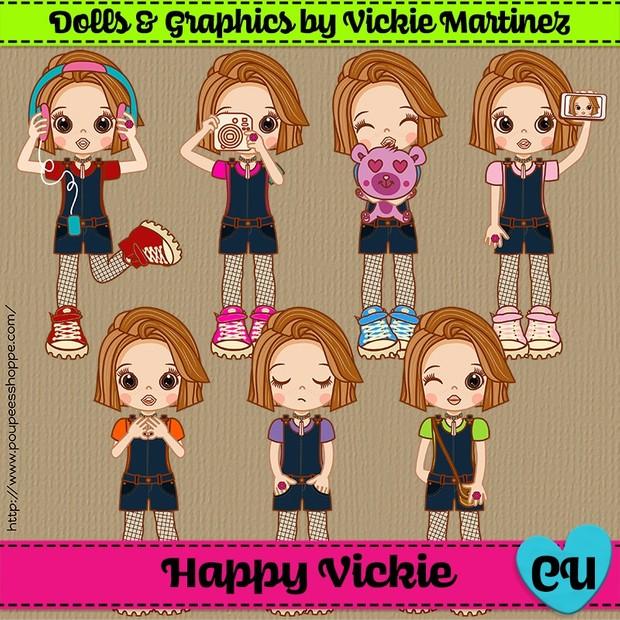 Sugar Happy Vickie