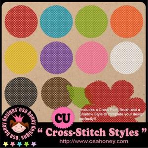 Oh_Cross_Stitch Styles