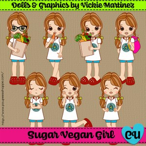 Sugar Vegan Girl