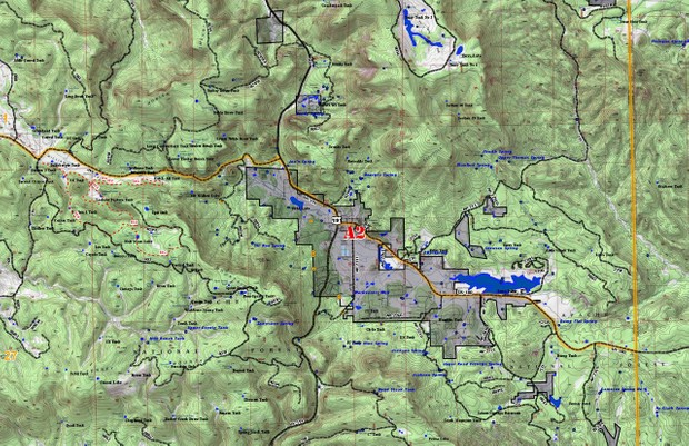 Map Of Arizona Land Ownership.Az Gmu 27 North Map Sheet A2
