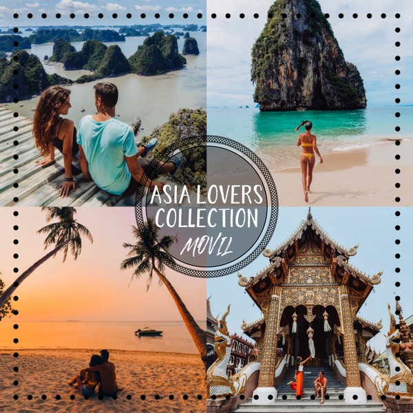 Asia Lovers Collection 10 Presets
