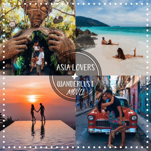 Asia Lovers + Wanderlust 24 Presets