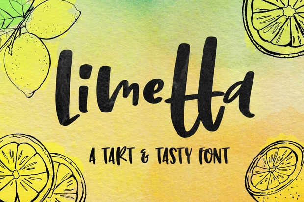 Limetta: a tart and tasty font!