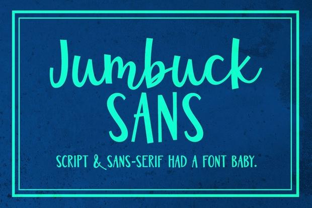 Jumbuck Sans: a sans script font!