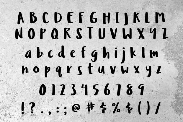 Ludicrous: a free handwriting font!