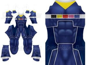 Custom Power Rangers In Space - Blue Ranger pattern file