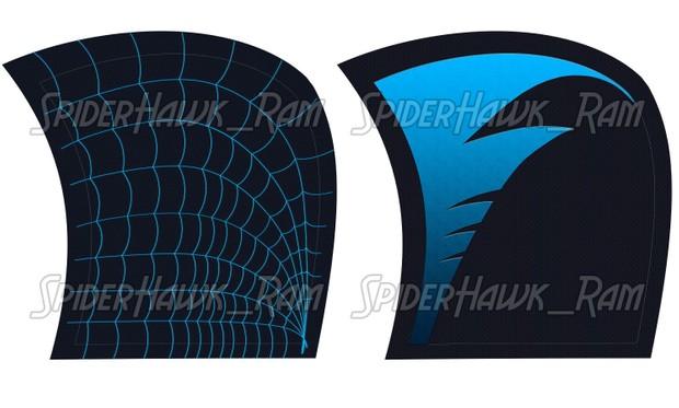 Nightwing Spiderman Pattern (Hooded ver.)