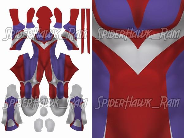 The Warrior of Light Bodysuit Pattern
