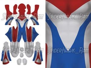 Ultra Type Flash Bodysuit Pattern