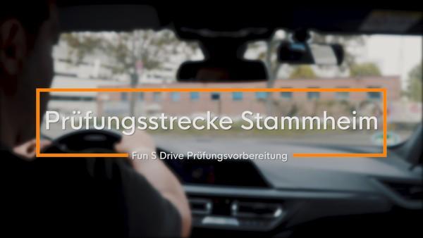 Prüfungsvorbereitung: Prüfungsstrecke in Stammheim