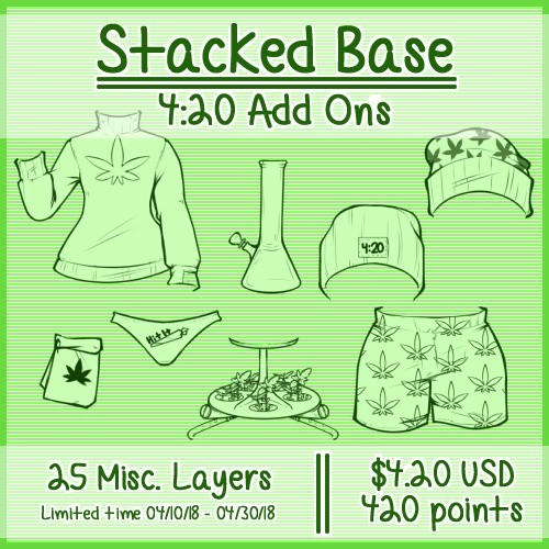 Stacked 4:20 Add Ons || Limited Time