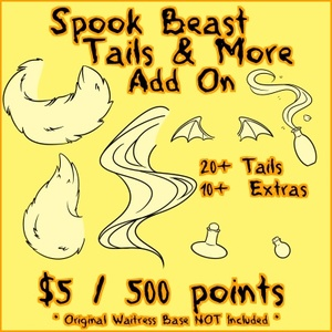 Spook Beast TAILS & MORE Add On