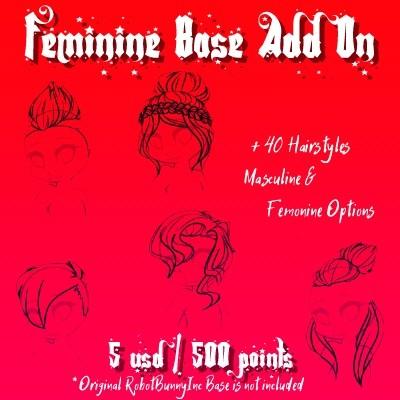 RobotBunnyInc. Femine Base Add On