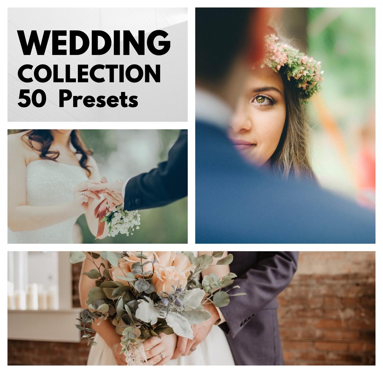 50 WEDDING PRESETS