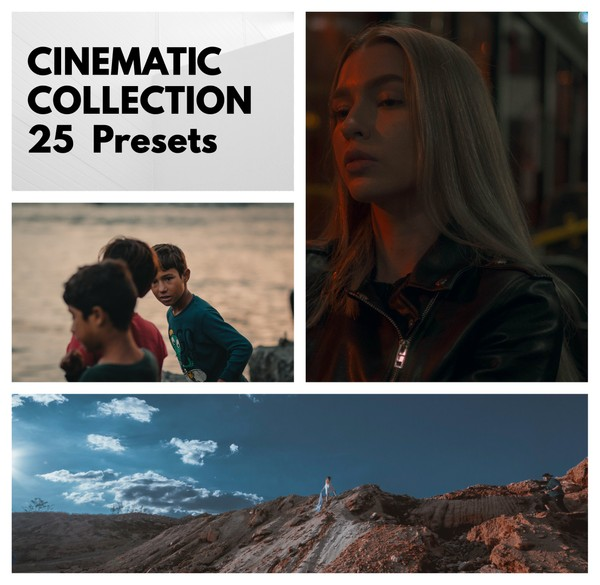 25 CINEMATIC LOOK PRESETS