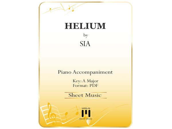 Helium - Piano Accompaniment