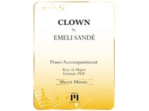Clown (Acoustic) - Piano Accompaniment