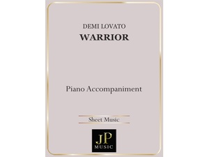 Warrior - Piano Accompaniment