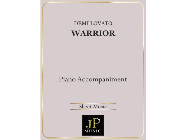 Warrior - Piano Accompaniment